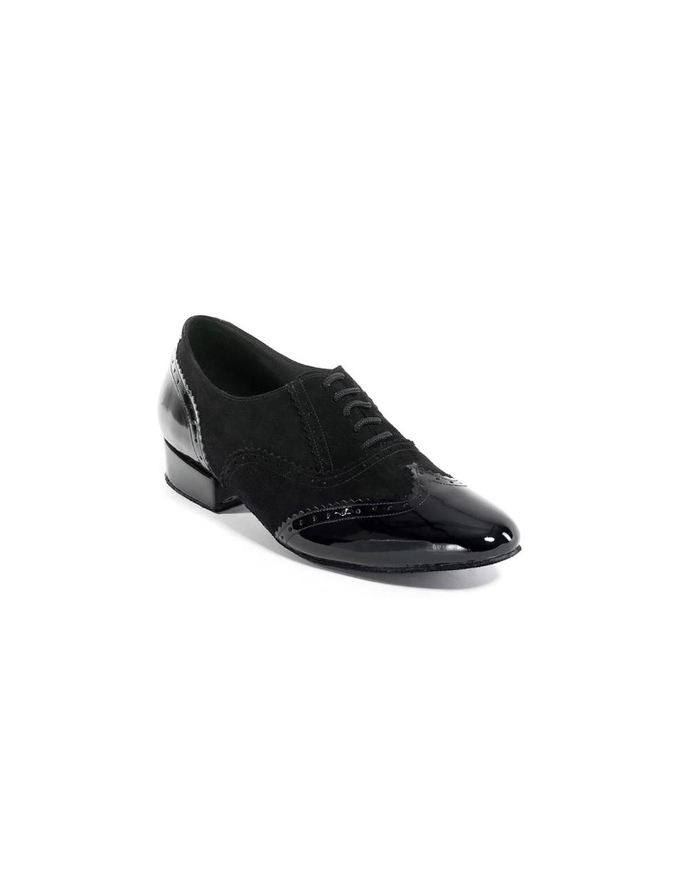 a5799224b8d Zapatos de baile elegantes hombre. Encuentre en Carol Martinez Dance Shoes  un calzado de baile de salon para hombre negro charol. Ideal para bailar  Tango