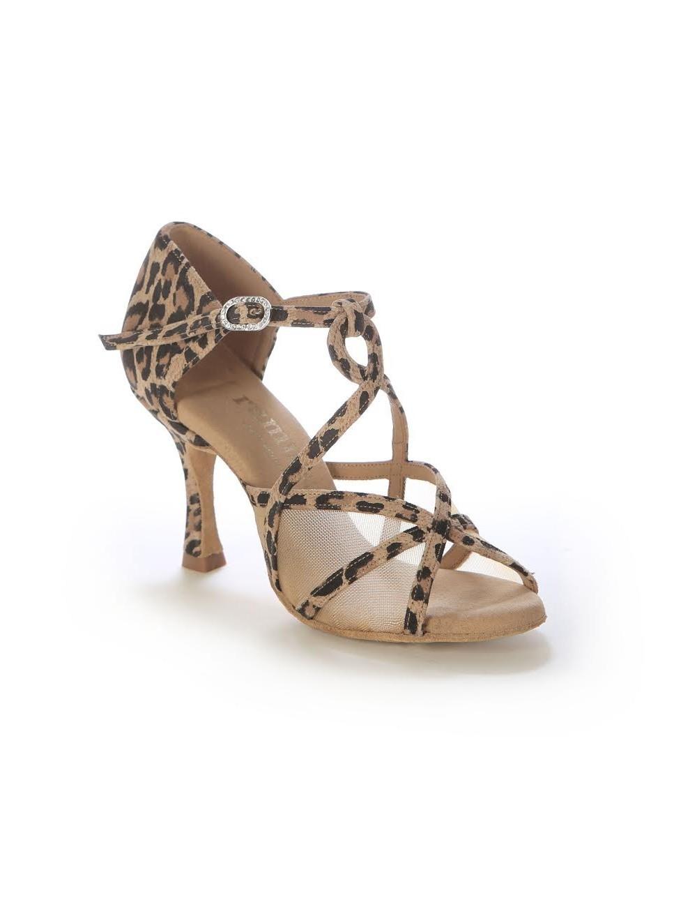 Boutique en ligne 90a51 29e28 ZAPATOS DE SALSA ESTAMPADO LEOPARDO Zapatos de baile de calidad