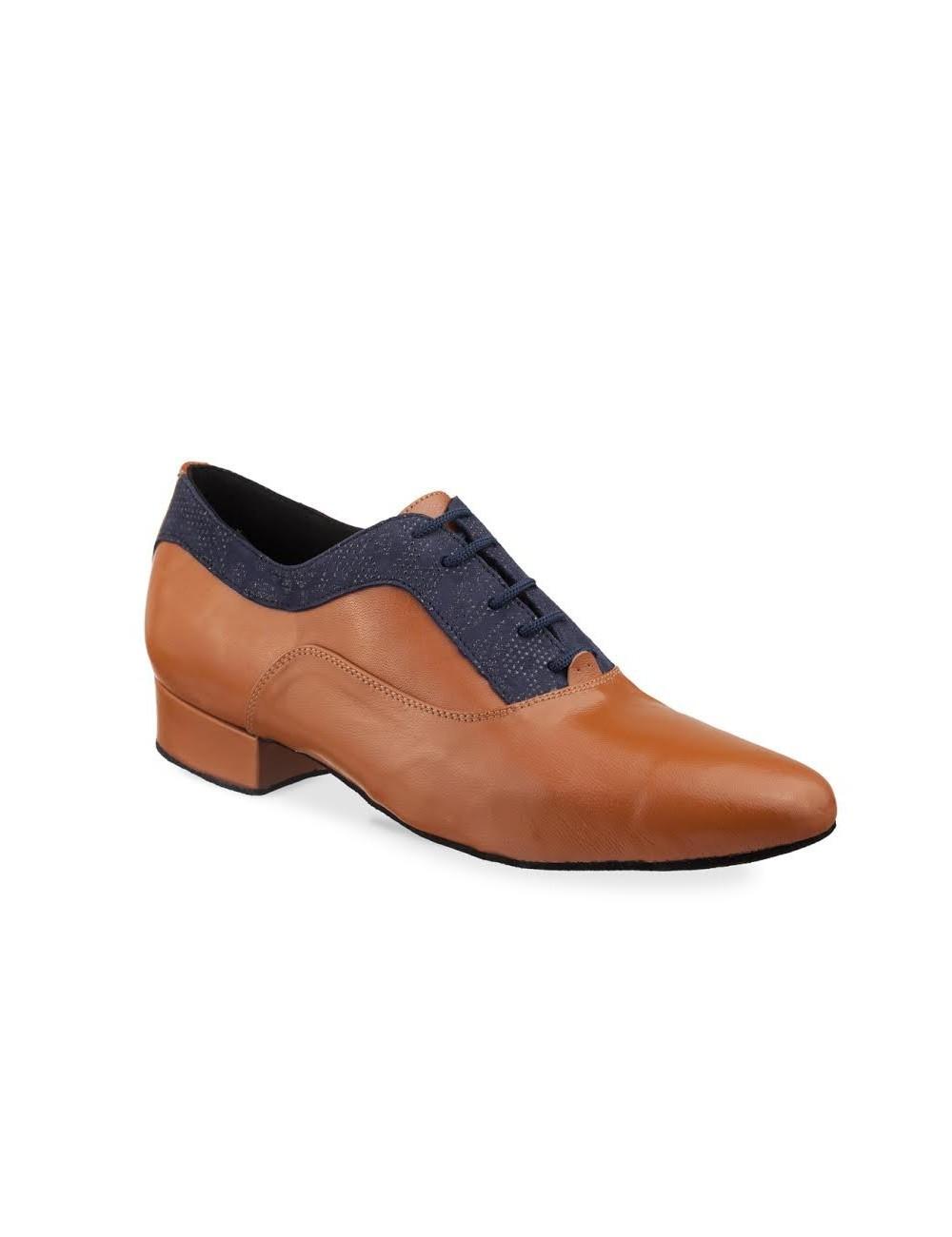 4d4c3cc4 Zapato de baile latino para hombre bicolor. Zapatos de salsa o tango para  hombre con suela de ante totalmente flexible en Carolmartinezdanceshoes ...